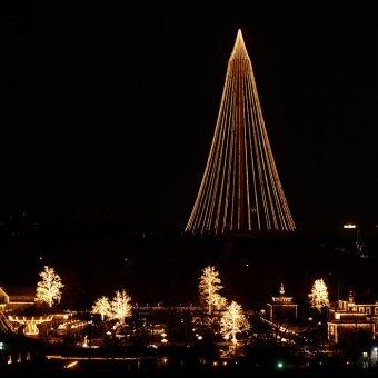 Ljusslang till Liseberg Göteborg.