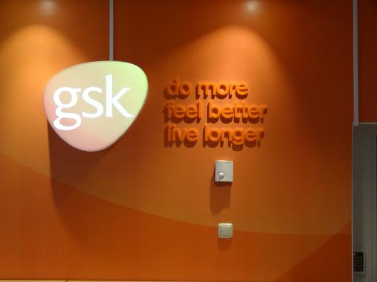 gsk: LED skylt profil 6 med obelysta bokstäver.