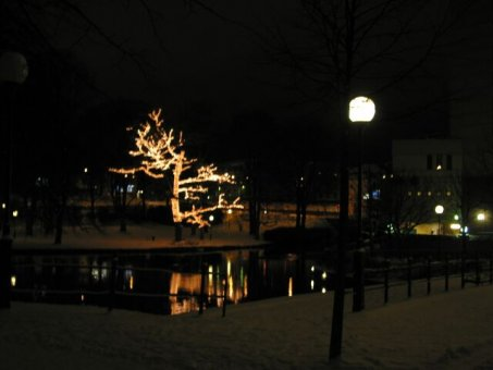 Juldekoration i Borås