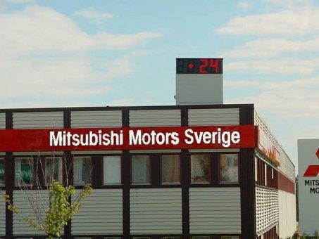 Tid / Temperaturvisare - Mitsubishi Motors Sverige.