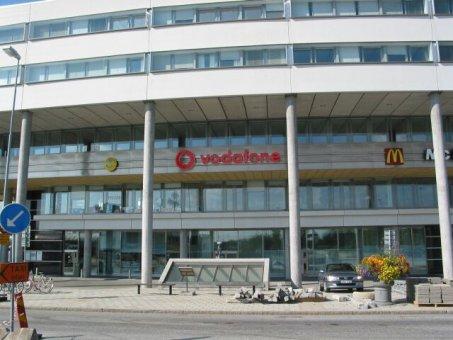 Vodafone: Neonskylt profil 2. Sammarbete med Art Form