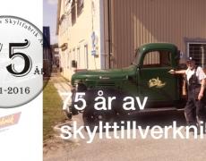 Södermalms Skyltfabrik AB 80 år